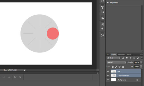 layer template animation