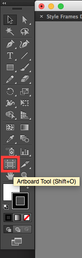 adobe illustrator artboard tool